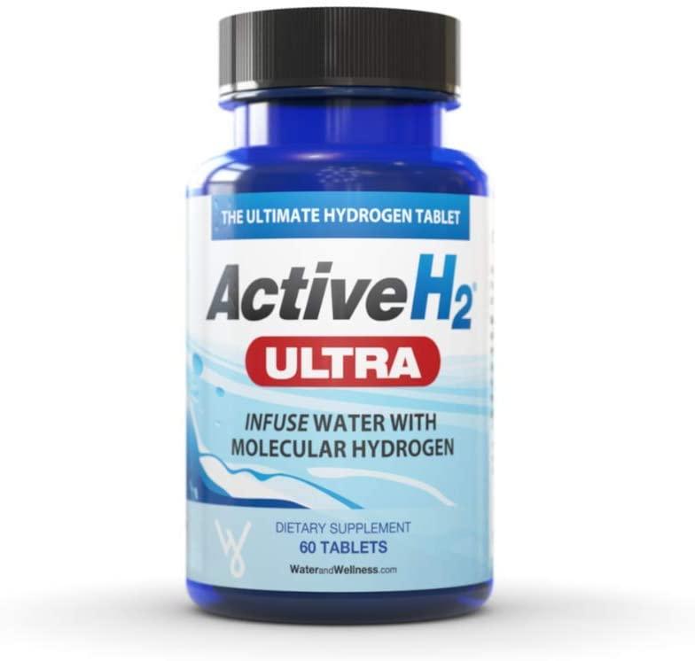 Active H2 Ultra Molecular Hydrogen 460mg 60 Tablets