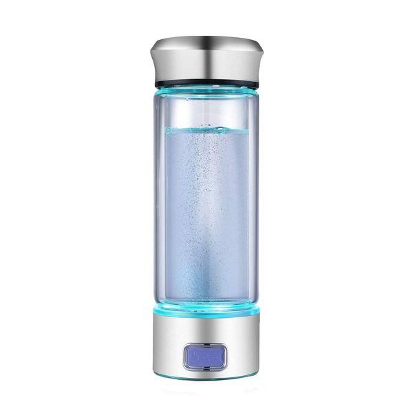 LevelUpWay Glass Hydrogen Generator Water Bottle