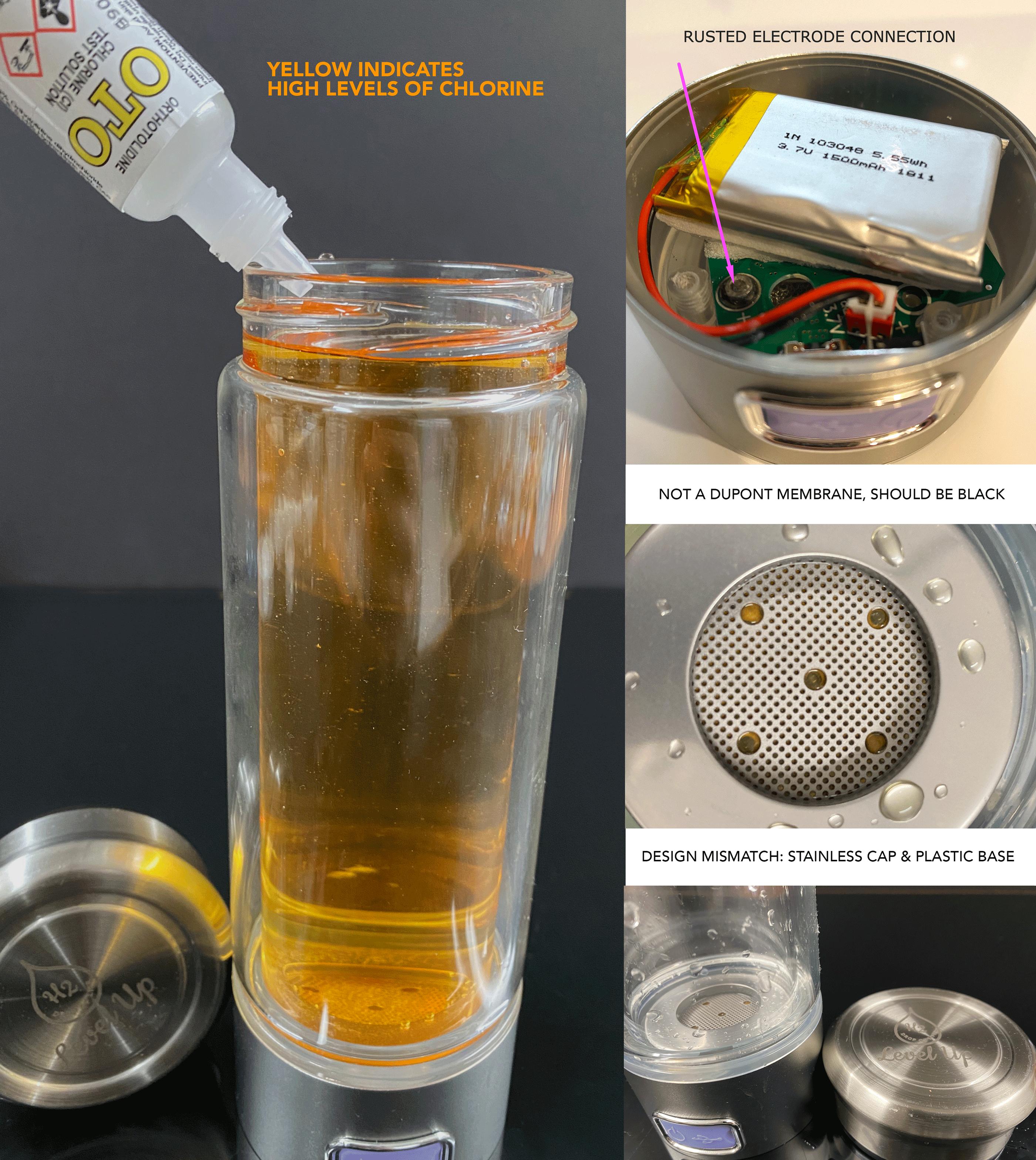 LevelupWay Chlorine test 2